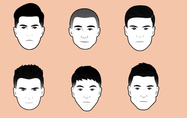 face shape hairstyle