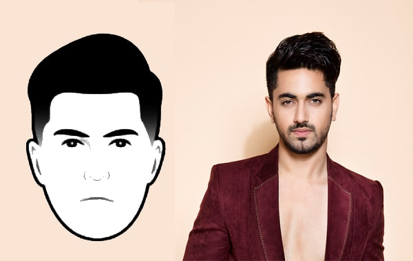 Oval Face Shape Hairstyle Male