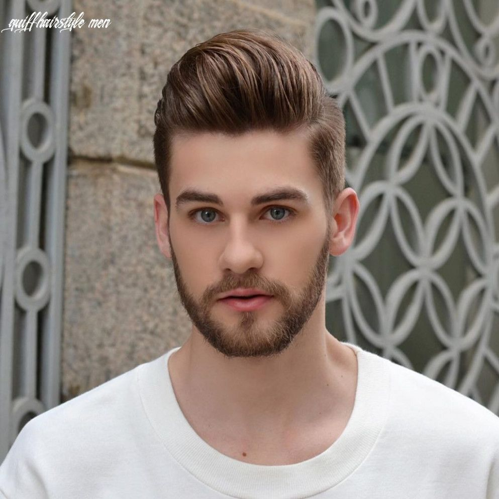 Back-Styled Quiff haircut