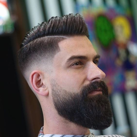 Blend of Line Up Low Fade and Slit