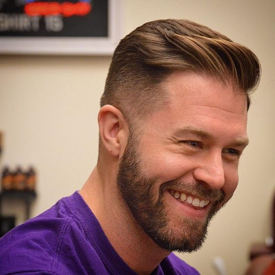 Side Brushed Textures haircut