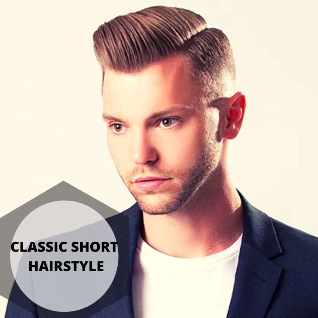 Classic Short Hairstyle men