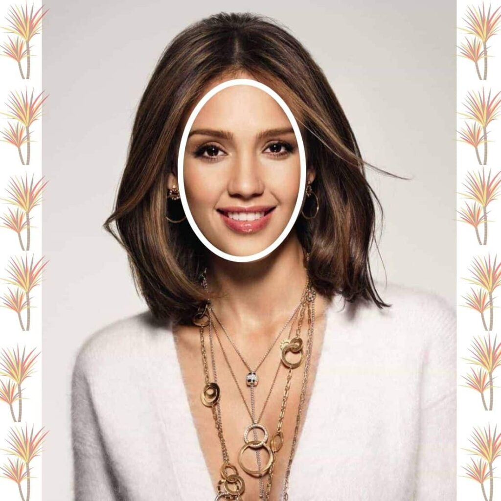 Hairstyle For Oval Shaped Face