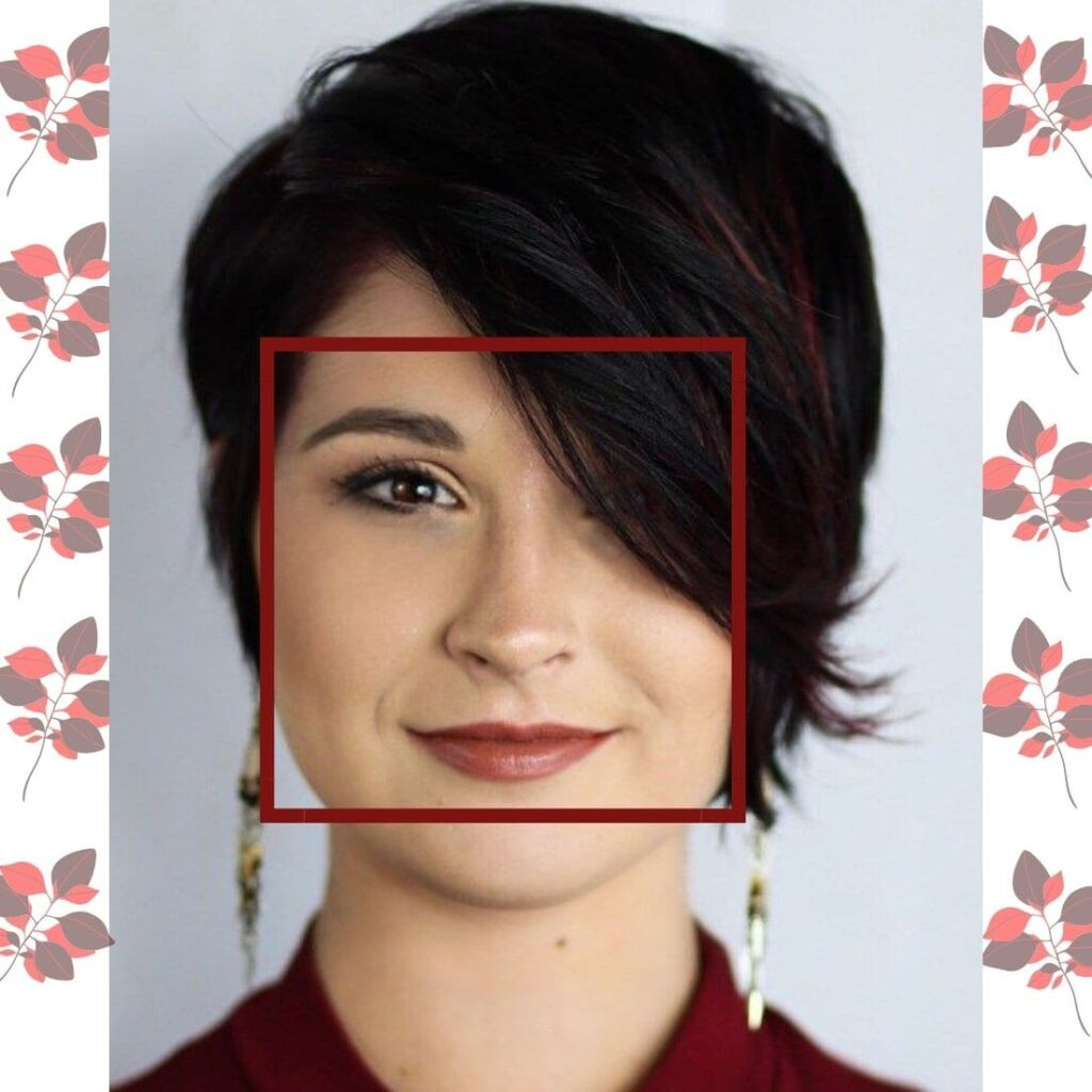 Hairstyle For Square Shaped Face