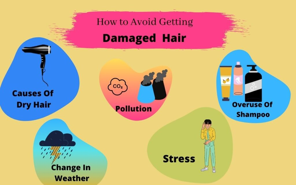 How to Avoid Getting Damaged Hair