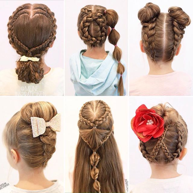 Hairstyles For School-College Girls
